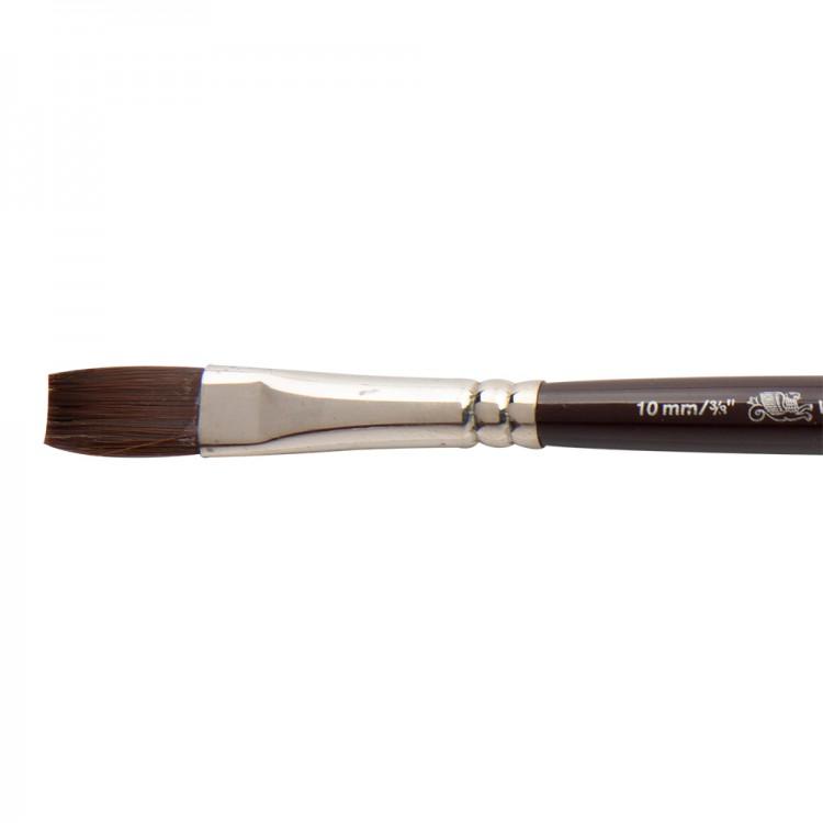 W&N : Galeria Brush : Short Handled : One-Stroke : 10mm