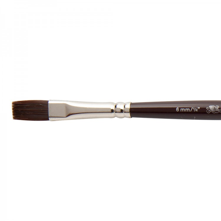 W&N : Galeria Brush : Short Handled : One-Stroke : 6mm
