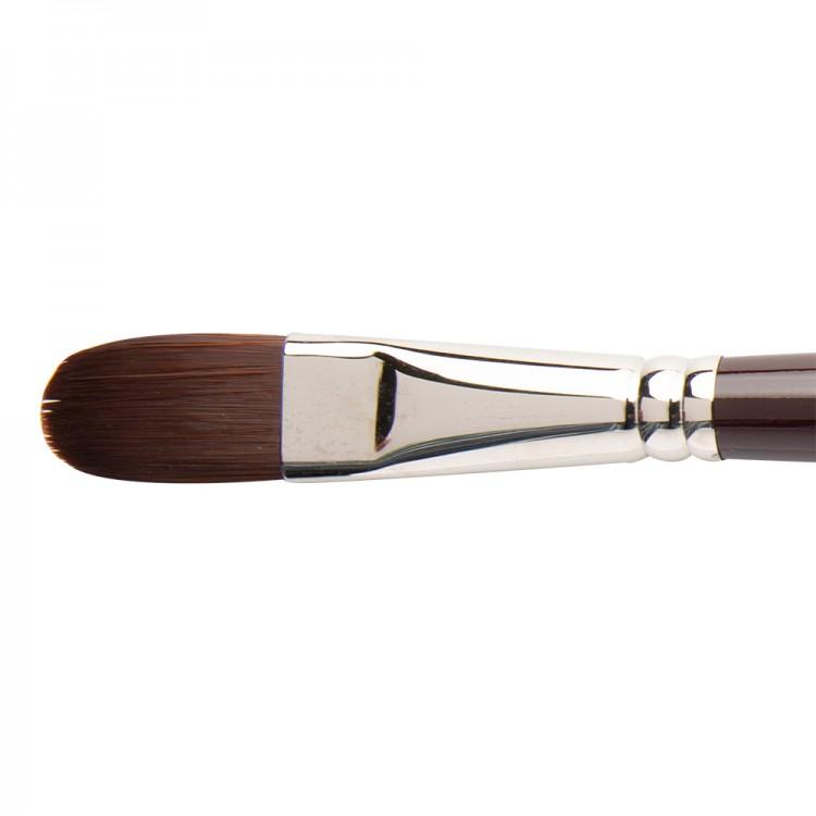 W&N : Galeria Brush : Long Handled : Filbert : No 18