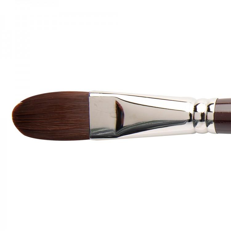 W&N : Galeria Brush : Long Handled : Filbert : No 22