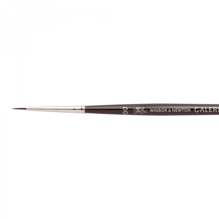 W&N : Galeria Brush : Short Handled : Round : No 00
