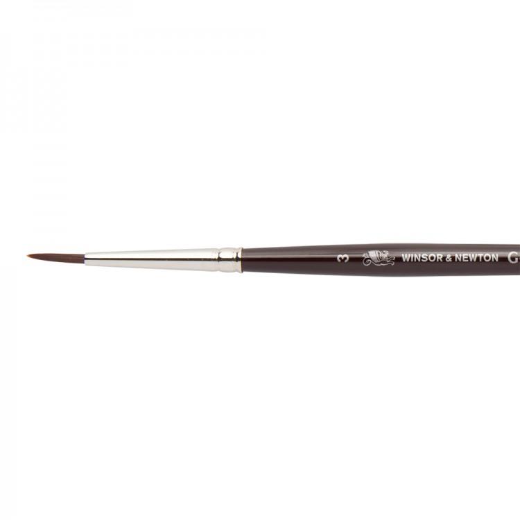 W&N : Galeria Brush : Short Handled : Round : No 3