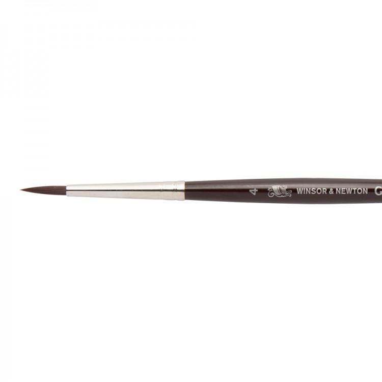 W&N : Galeria Brush : Short Handled : Round : No 4