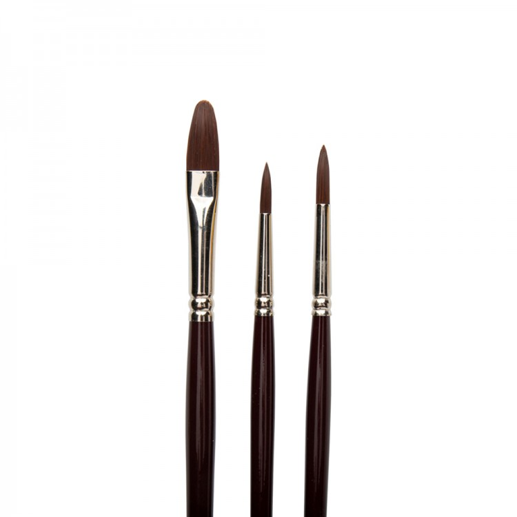 W&N : Galeria : Acrylic Brush : Set of 3