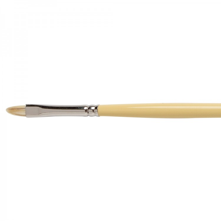 Winsor & Newton : Artist Hog Brush : Short Filbert : No 2