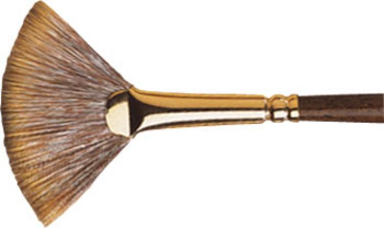 Winsor & Newton : Monarch Brush : Fan : No.4