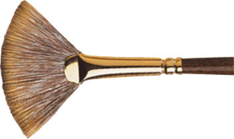Winsor & Newton : Monarch Brush : Fan : No.6