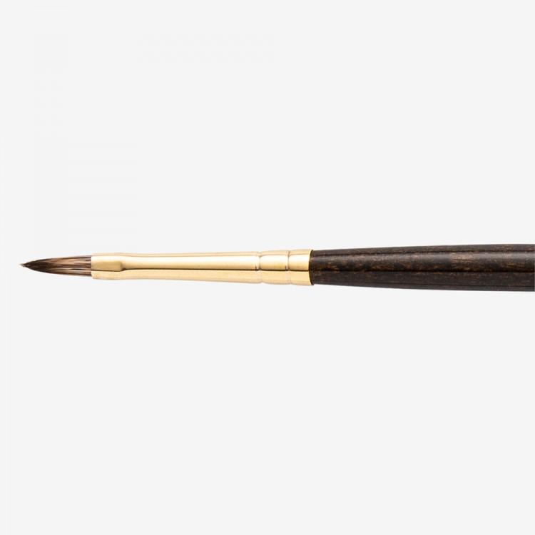Winsor & Newton : Monarch Brush : Filbert : No.0