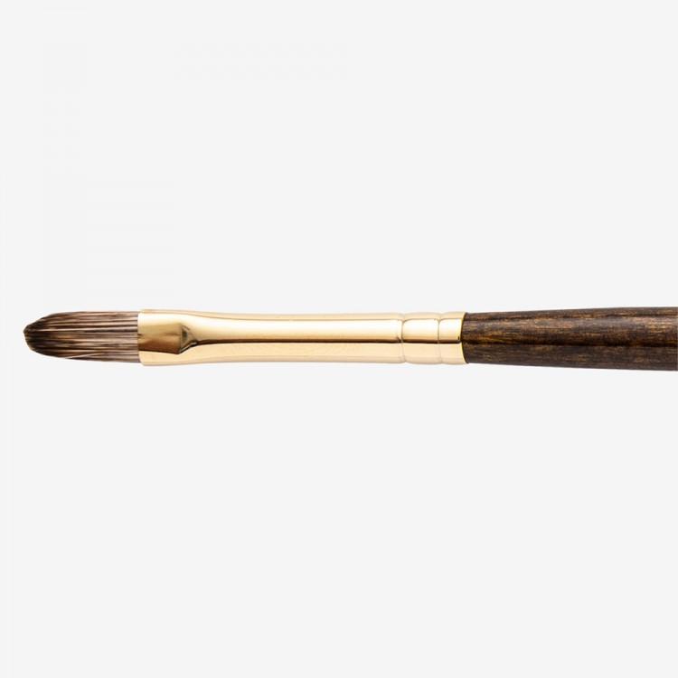 Winsor & Newton : Monarch Brush : Filbert : No.4