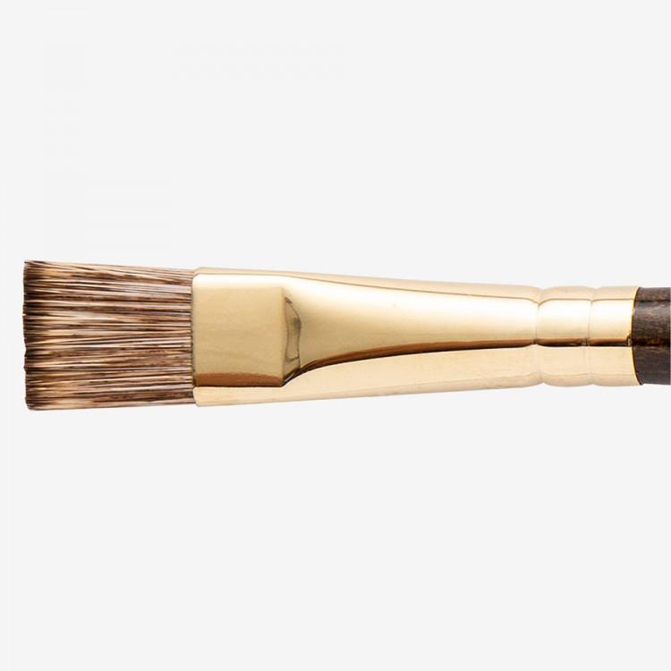 Winsor & Newton : Monarch Brush : Flat : No.14