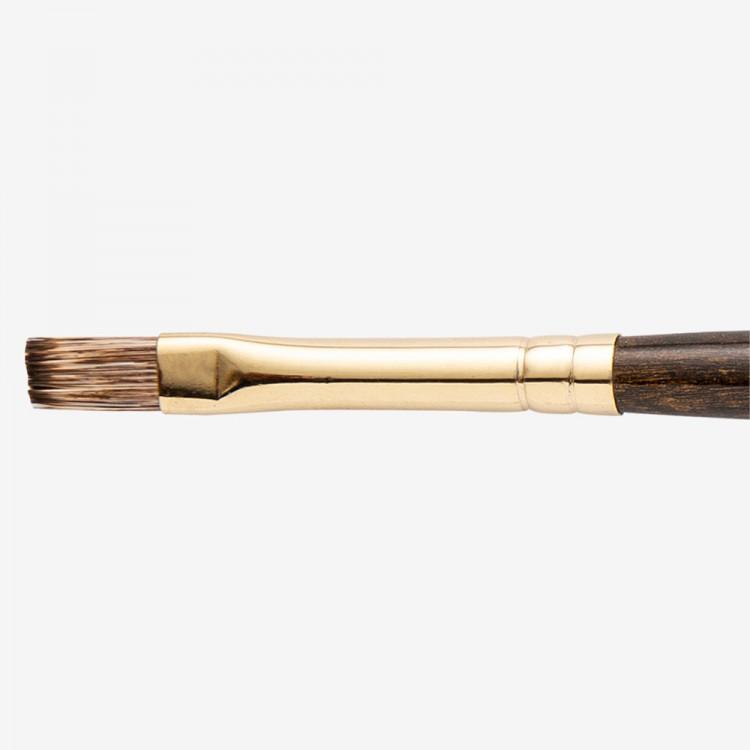 Winsor & Newton : Monarch Brush : Flat : No.6