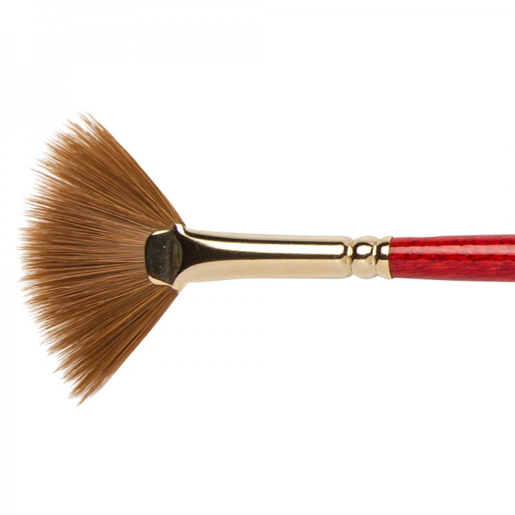 Winsor & Newton : Sceptre Gold Brush : Fan : No. 4