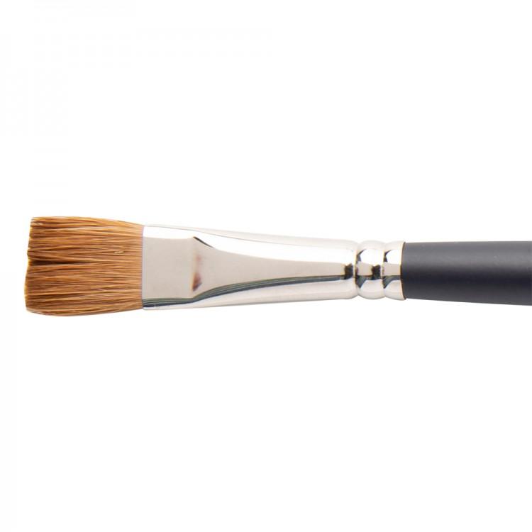 Winsor & Newton : Artist Sable Brush : One Stroke : 1/2 Inch