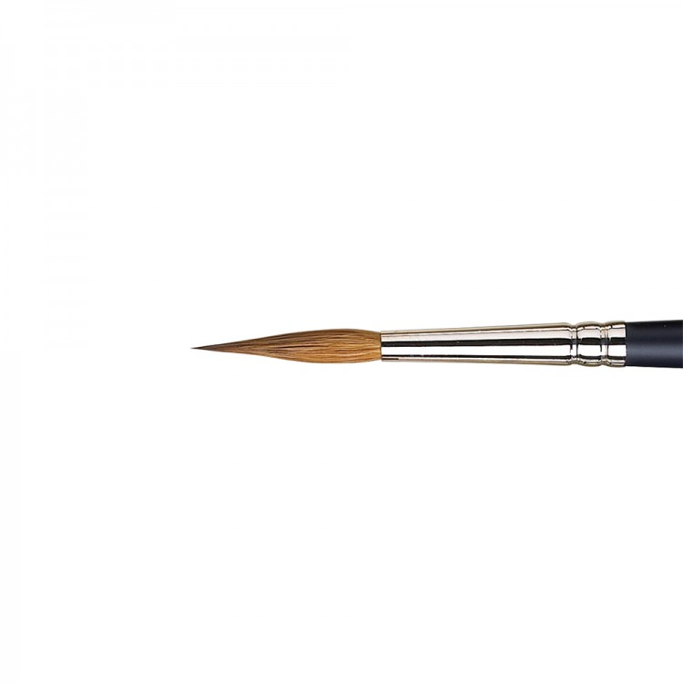 Winsor & Newton : Artist Sable Brush : Pointed Round : No 6