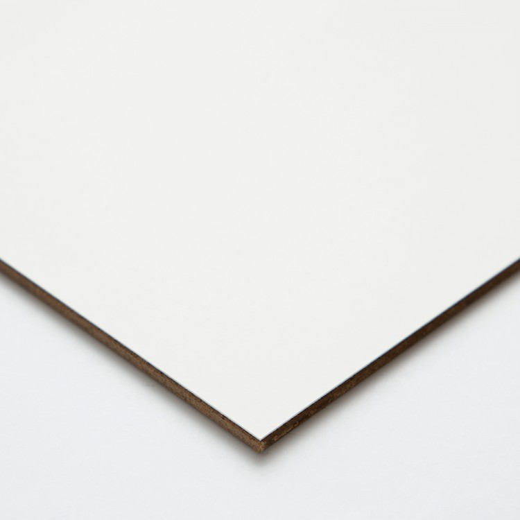 Ampersand : Claybord Panel : Uncradled 3mm : 8x8in
