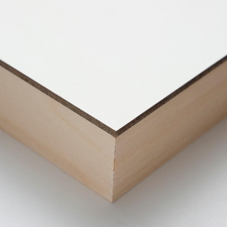 Ampersand : Claybord Panel : Cradled 38mm : 8x8in
