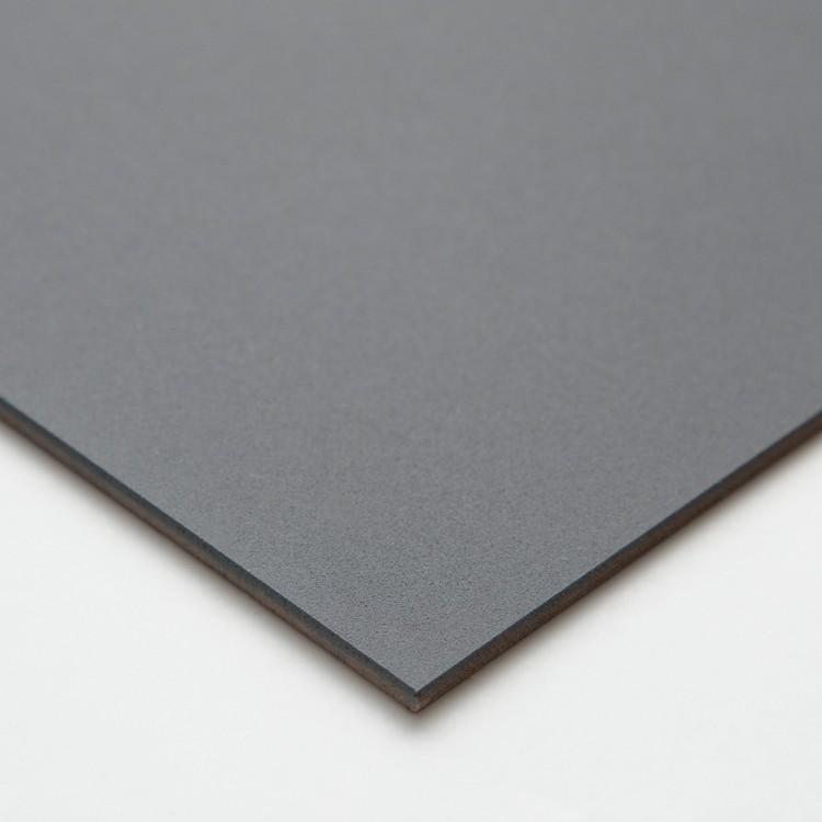 Ampersand : Pastelbord Panel : Gray : 11x14in