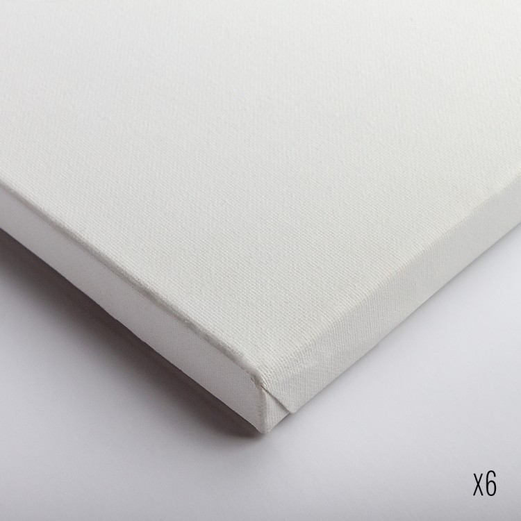 Belle Arti : Stretched Canvas : Fine Cotton (64/569) : 20x20cm : Box of 6