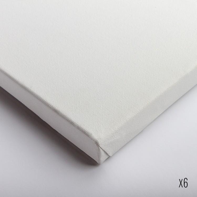 Belle Arti : Stretched Canvas : Fine Cotton (64/569) : 50x70cm : Box of 6