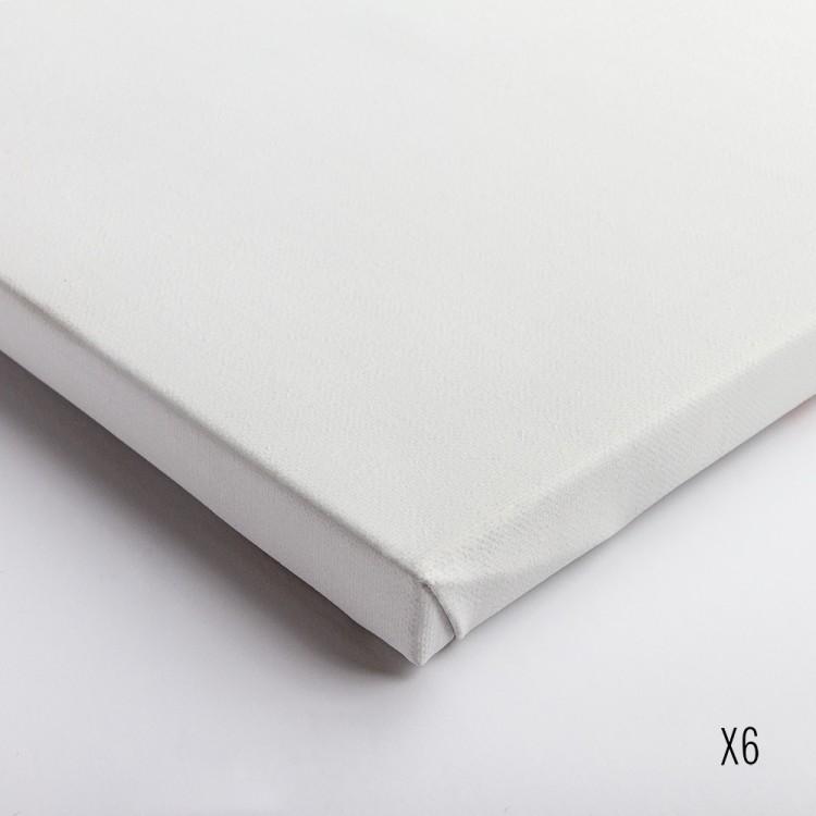 Belle Arti : Linen 62/574 : Universal Primed Extra Fine Grain : 35x45cm : Box of 6