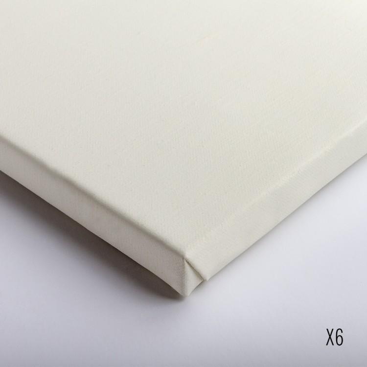 Belle Arti : Linen (63/540) : Oil Primed Extra Fine Grain : 50x60cm : Box of 6