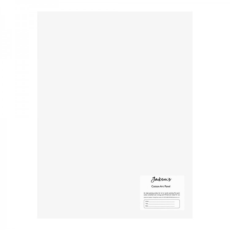 Jackson's : Academy 3mm Cotton Art Board : Canvas Panel : 12x16in