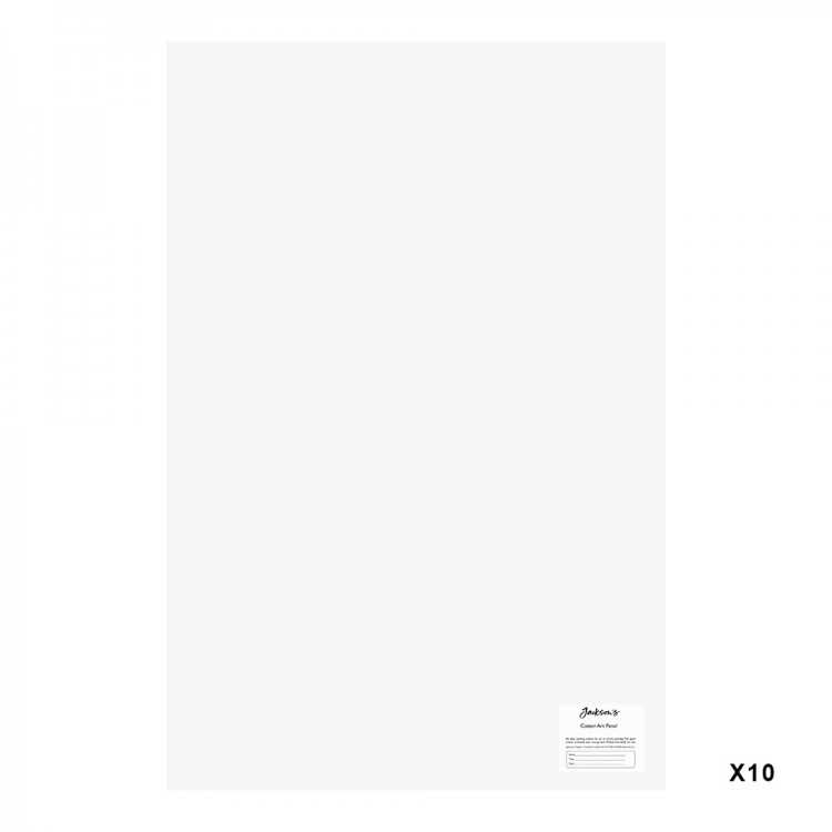 Jackson's : Academy 3mm Cotton Art Board : Canvas Panel : 20x30in : 10 Pack