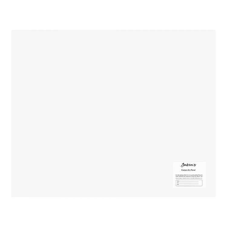 Jackson's : Academy 3mm Cotton Art Board : Canvas Panel : 22x18in