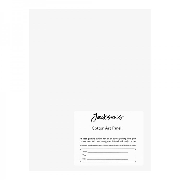 Jackson's : Academy 3mm Cotton Art Board : Canvas Panel : 6x8in