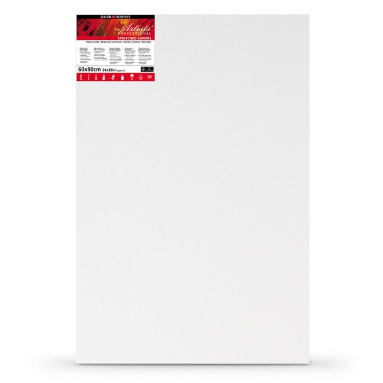 Daler Rowney : Stretched Canvas : 60x90cm : Medium Grain