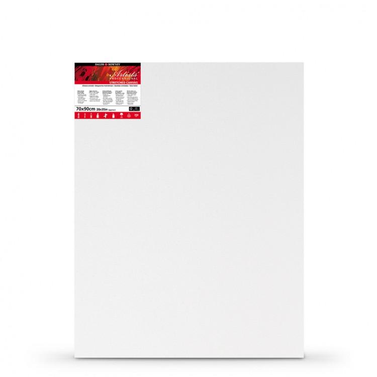 Daler Rowney : Stretched Canvas : 70x90cm : Medium Grain