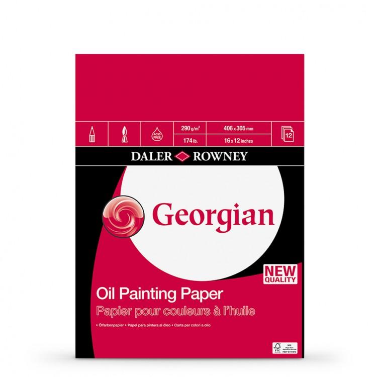 Daler Rowney : Georgian Oil : Pad : 16x12in