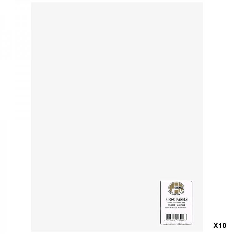 Belle Arti : Gesso Panel : Multi-Ply Poplar Wood Base : 30x40cm : Box of 10