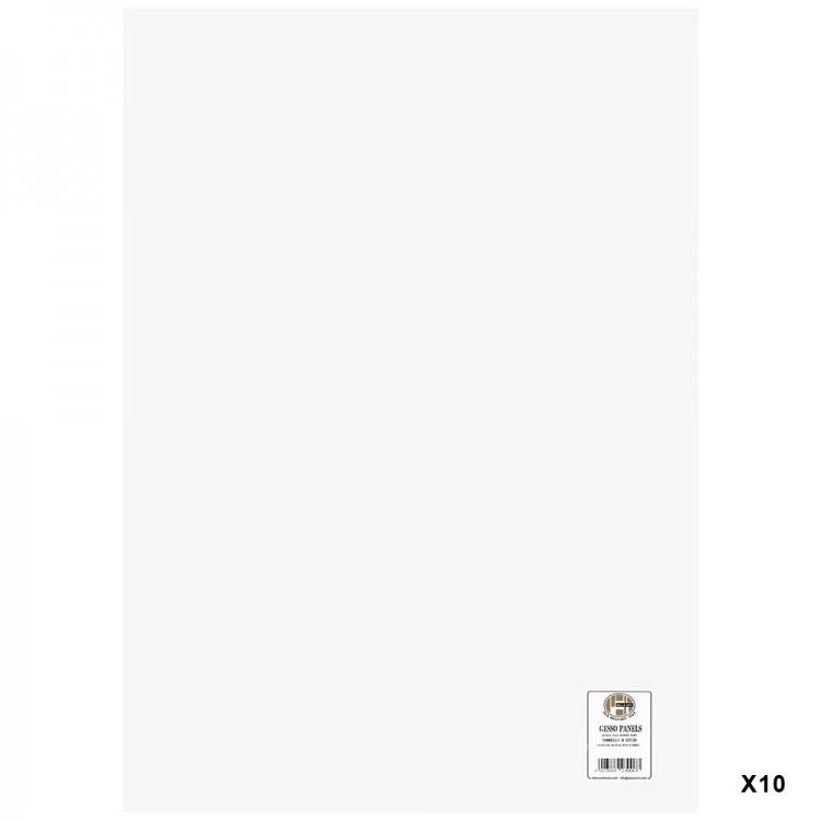 Belle Arti : Gesso Panel : Multi-Ply Poplar Wood Base : 50x70cm : Box of 10
