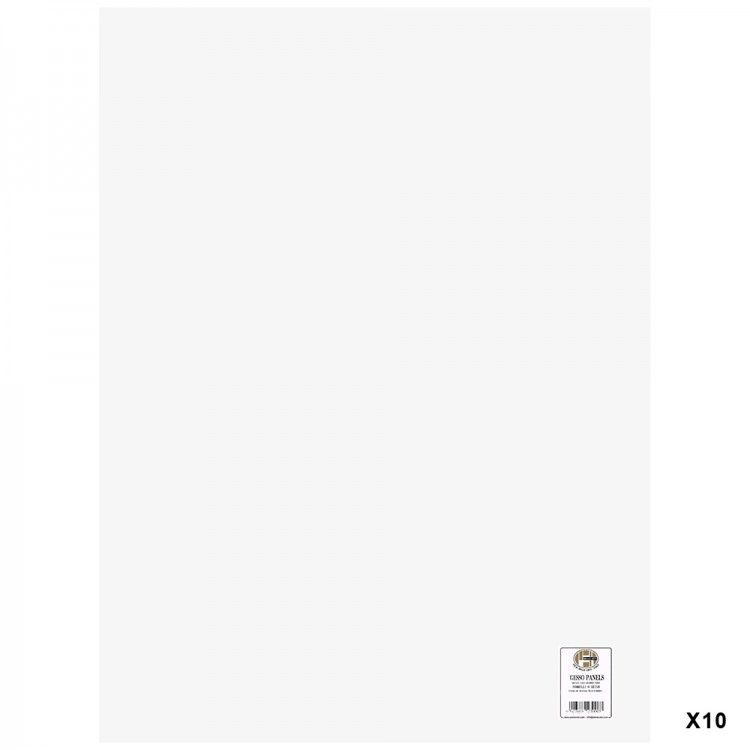 Belle Arti : Gesso Panel : Multi-Ply Poplar Wood Base : 60x80cm : Box of 10