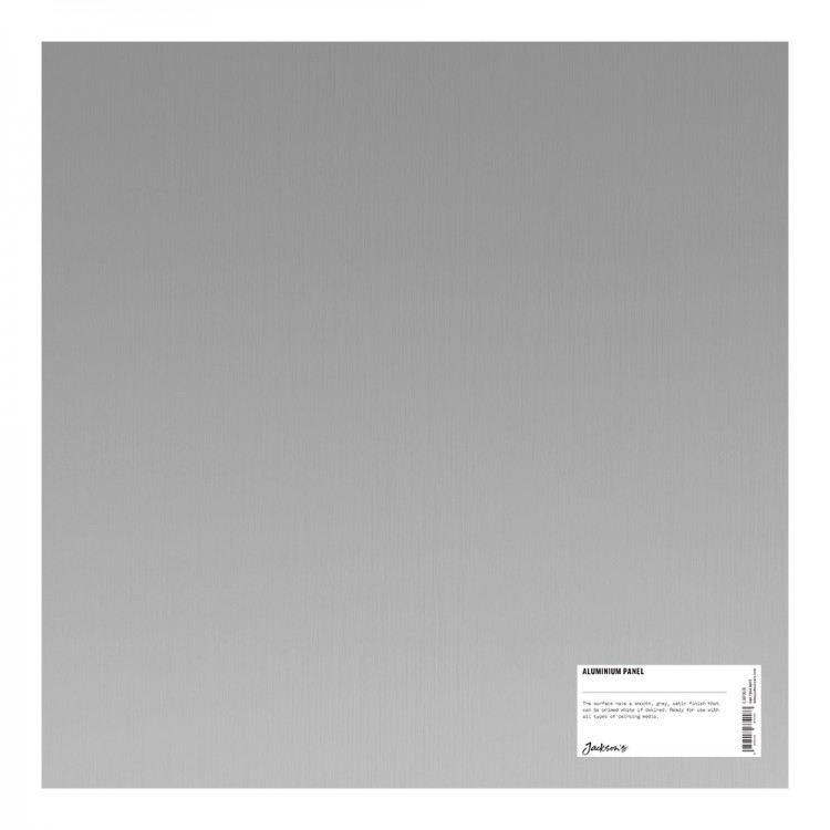 Jacksons : Aluminium Panel : 16x16 Inch (40x40cm) : ready prepared for all media
