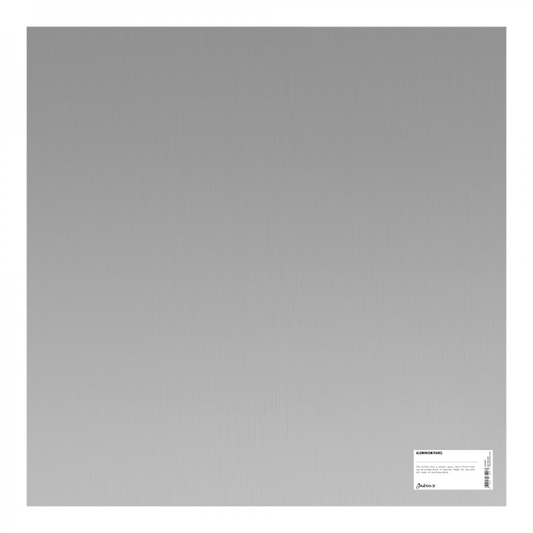 Jacksons : Aluminium Panel : 24x24 Inch (61x61cm) : ready prepared for all media
