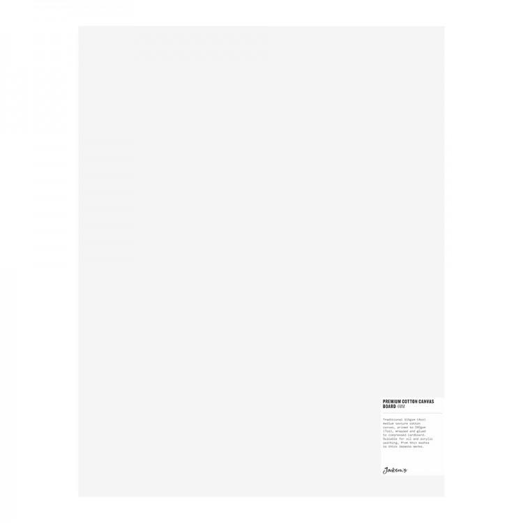 Jackson's : Single : Premium Cotton Canvas Art Board 4mm : 14x18in (Apx.35x45cm)