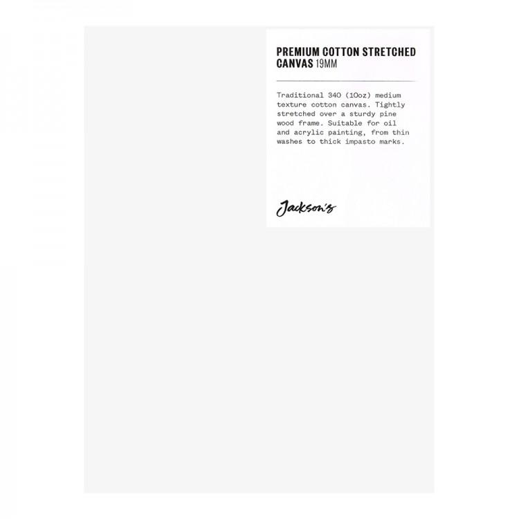 Jackson's : Single : Premium Cotton Canvas : 10oz 19mm Profile 15x20cm (Apx.6x8in)