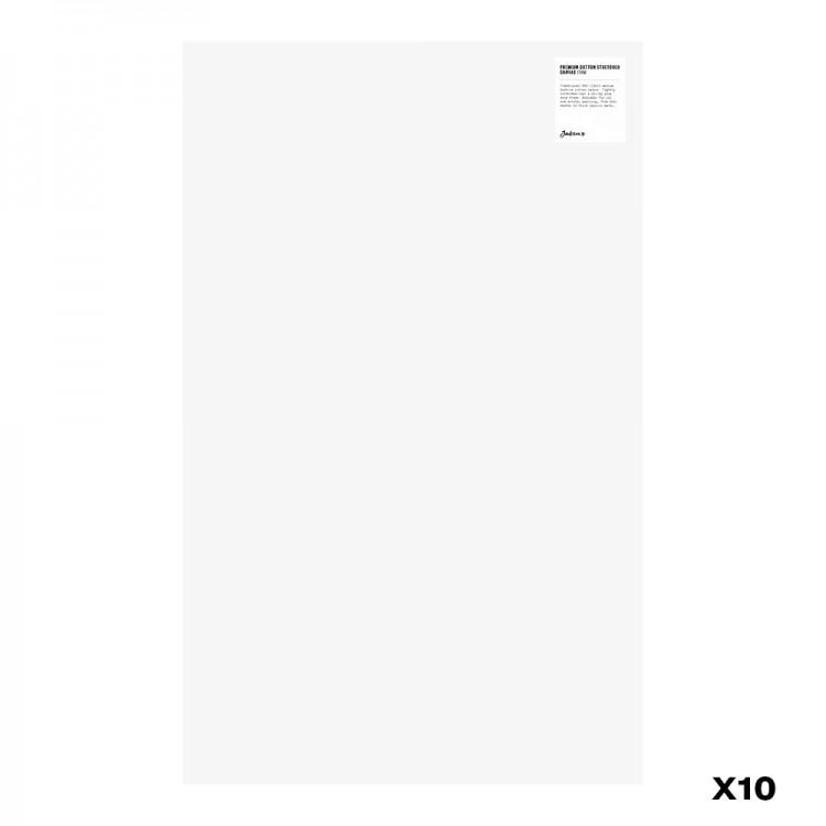 Jackson's : Box of 10 : Premium Cotton Canvas : 10oz 19mm Profile 46x74.4cm : GS (-)