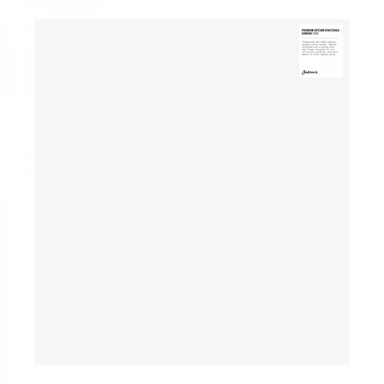 Jackson's : Single : Premium Cotton Canvas : 10oz 19mm Profile 50x55cm (Apx.20x22in)