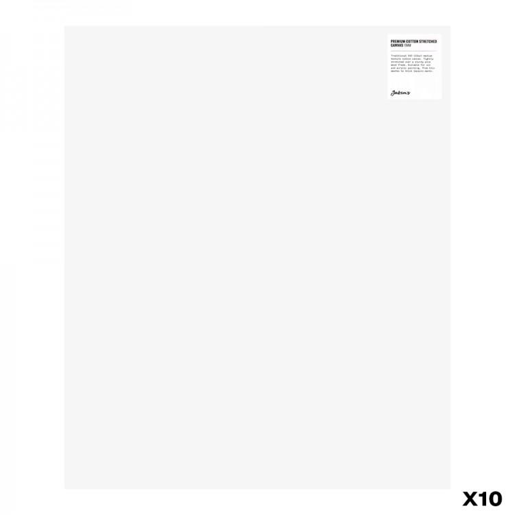Jackson's : Box of 10 : Premium Cotton Canvas : 10oz 19mm Profile 50x60cm (Apx.20x24in)