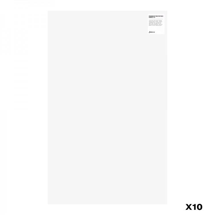 Jackson's : Box of 10 : Premium Cotton Canvas : 10oz 19mm Profile 50x80.9cm : GS (-)