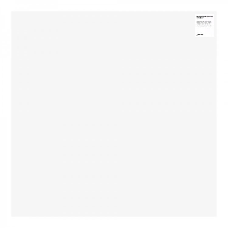 Jackson's : Single : Premium Cotton Canvas : 10oz 19mm Profile 76x76cm (Apx.30x30in) (+)