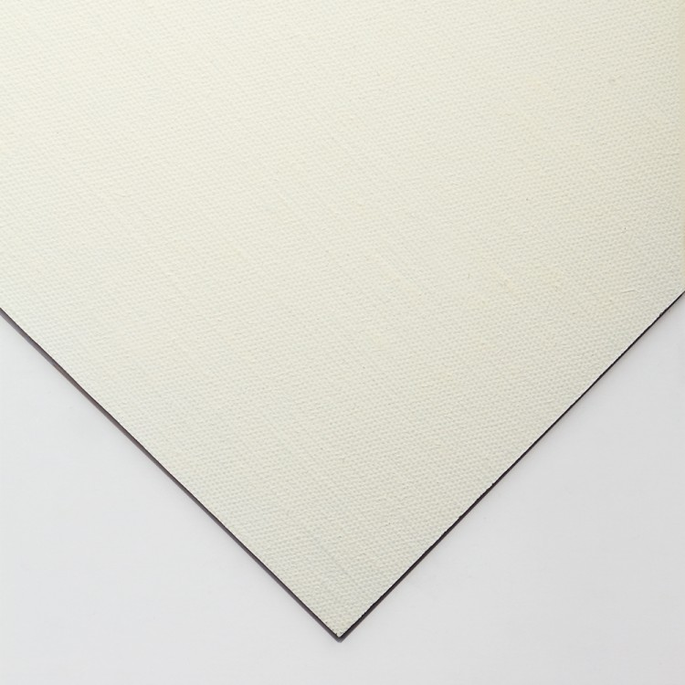 Jackson's : Handmade Boards : Oil Primed Medium Linen CL536 on MDF Board : 20x30cm
