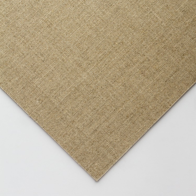 Jackson's : Handmade Boards : Clear Primed Fine Linen CL696 on MDF Board : 24x30cm