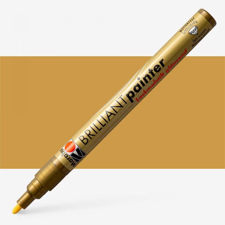 Marabu : Brilliant Painter : 1-2mm : Gold