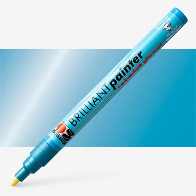 Marabu : Brilliant Painter : 1-2mm : Met Blue