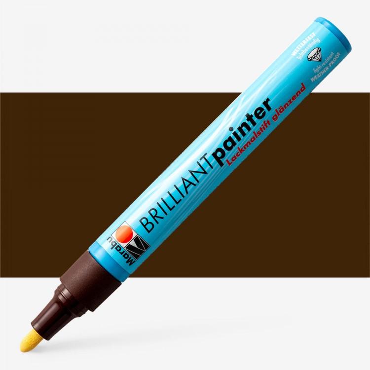 Marabu : Brilliant Painter : 2-4mm : Cocoa
