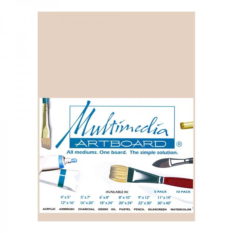 Multimedia Artboard : Pastel Artist Panel : Sample : 0.8 mm : 320 Grit : 6x8in : Sandst1 : 1 Per Order